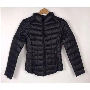 BCBGeneration Puffer Down Coat Black
